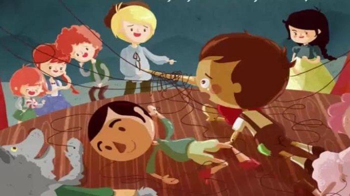 Dongeng Anak Sebelum Tidur Petualangan Pinokio Si Boneka Kayu
