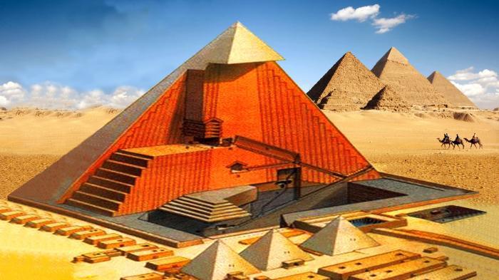 Mengintip Teknologi Mesir Kuno Nan Canggih di Piramida Untuk Cegah  Pencurian - Tribunjateng.com