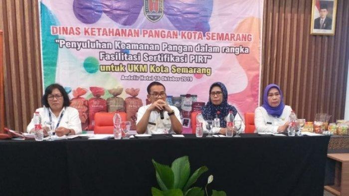 Dinas Ketahanan Pangan Kota Semarang Minta Pelaku Usaha Kuliner Segera Urus PIRT