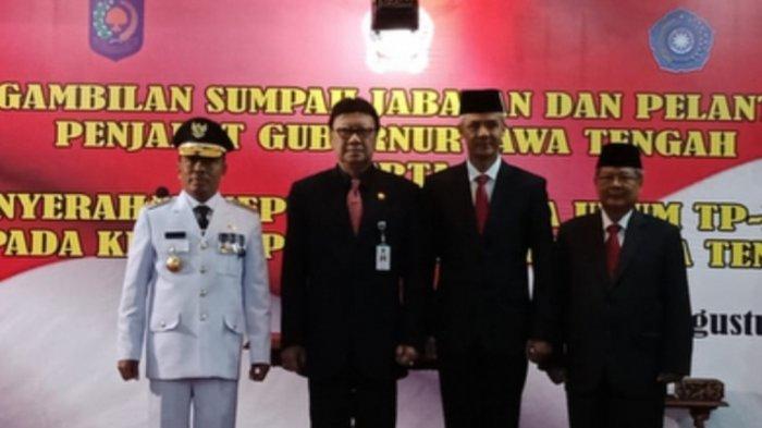 Syarifuddin Dilantik Menjadi PJ Gubernur Jawa Tengah