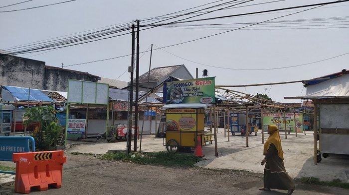 Nasib Pedagang Alun-alun Kota Tegal, Pagi Sepi, Malam Lumayan