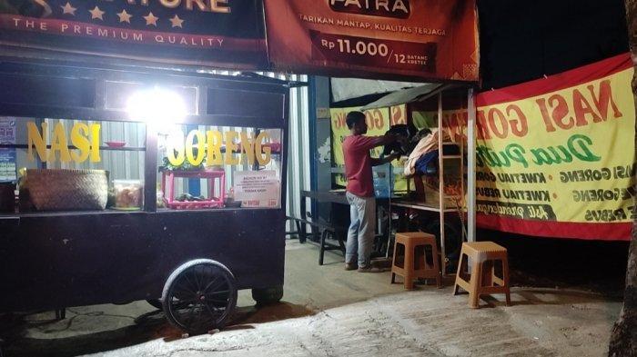 PPKM Darurat Banjarnegara Longgar, PKL Kuliner Bahagia Tak Ada Jam Malam: Makan Wajib Take Away
