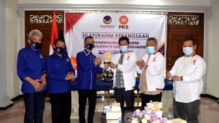 MenjajakiPilkada 2024, DPD PKS Salatiga Silaturahim Kebangsaan dengan Kunjungi Partai Nasdem