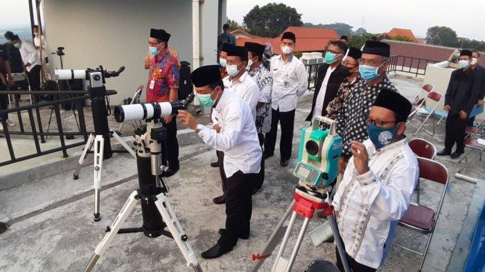 Planetarium UIN Walisongo Semarang Jadi Lokasi Rukyatul Hilal 1 Syawal 1442H