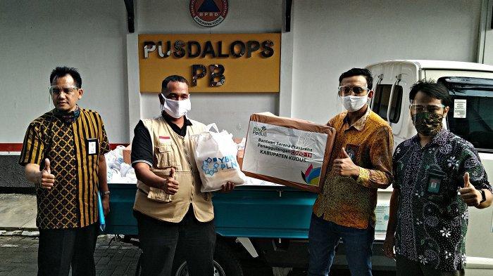 PLN Peduli Sumbang 6.000 Masker Dukung New Normal di Kudus