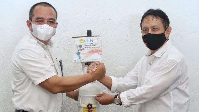 Dukung Jogo Wartawan Cegah Covid-19, PLN Bantu Tabung Oksigen PWI Jateng