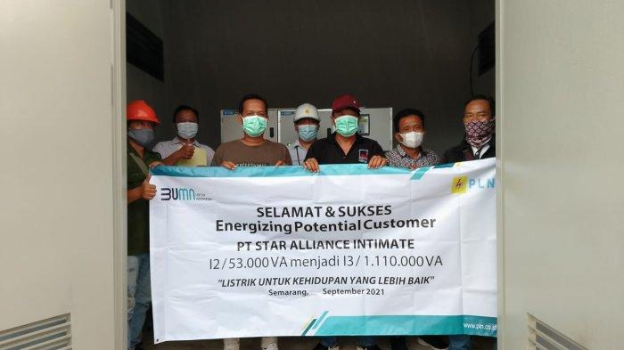 Dukung Pemulihan Ekonomi di Masa Pandemi, PLN Energize Penambahan Daya Industri Garmen