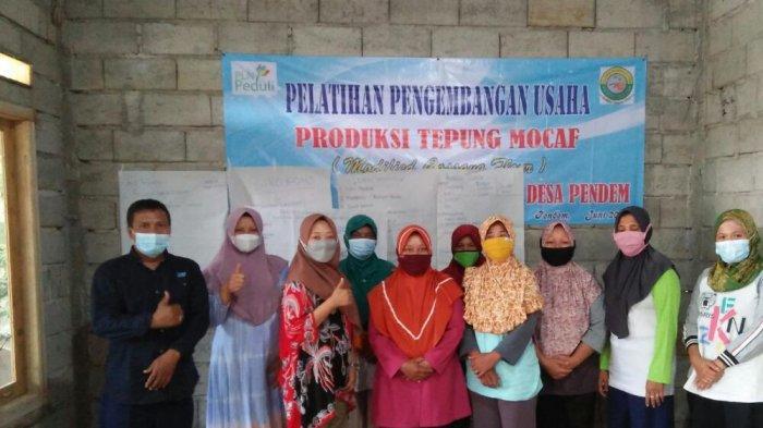 PLN UP3 Sukoharjo Dukung Pengembangan Tepung Mocaf Kearifan Lokal
