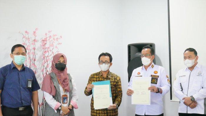 PLN UP3 Tegal Tanda Tangani Perjanjian Kerjasama dengan Kejaksaan Negeri Kabupaten Tegal
