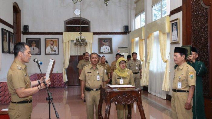 Lantik Pengawas Sekolah Kabupaten Kudus, HM Hartopo Minta Amanah Dijalankan