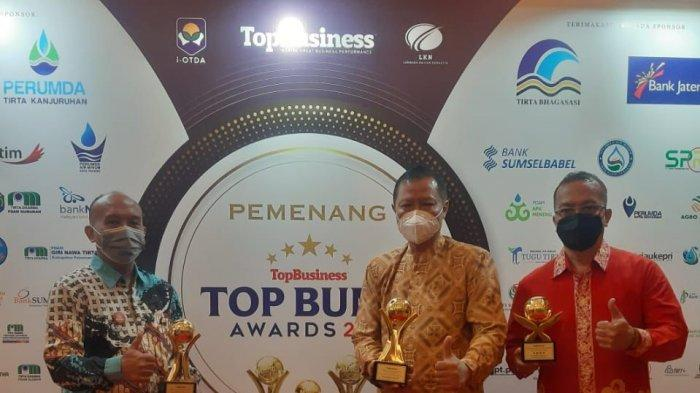 Perumda BPR Bank Pasar Kota Semarang Raih TOP BUMD AWARDS 2021 Sabet 3 Kategori Sekaligus