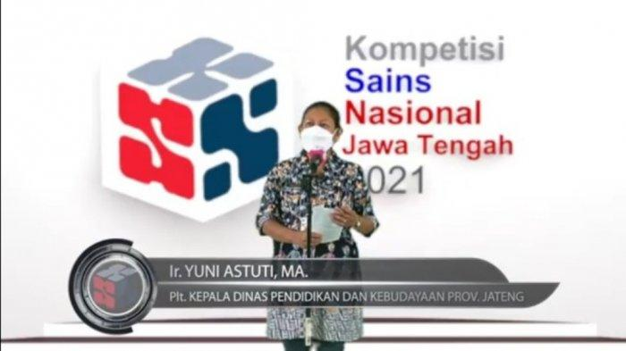 Disdikbud Gelar KSN 2021 Secara Daring, Pemenang Akan Wakili Jawa Tengah di Tingkat Nasional