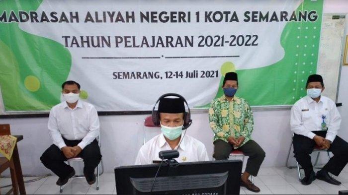 433 Peserta Didik MAN 1 Kota Semarang Ikuti Matsama Secara Daring