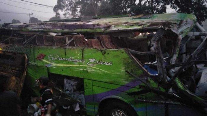 Daftar Identitas 8 Korban Tewas, Luka Berat dan Ringan dari Kecelakaan Bus Pariwisata di Subang