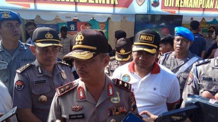 Polda Jateng Gelar Sosialisasi Rekruitmen Anggota Polisi di CFD Jalan Pahlawan (Video)