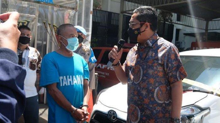Polda Jateng Tangkap Penjual Mobil Warga Kabupaten Tegal Dengan Surat-Surat Palsu