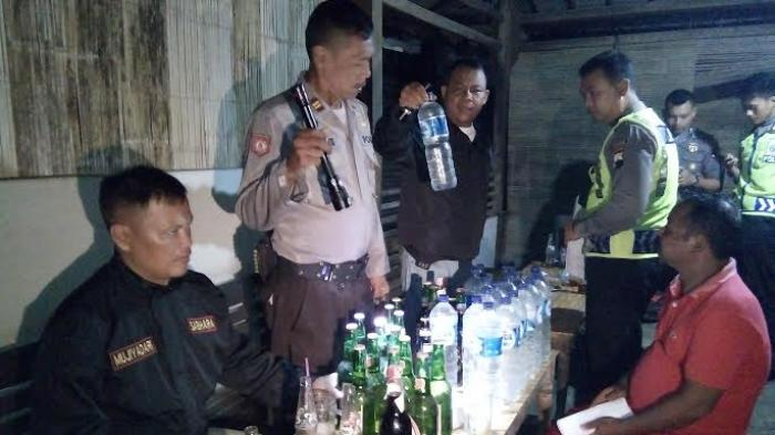 BREAKING NEWS : Jajaran Polres Grobogan Amankan Ratusan Botol Miras dan Ciu