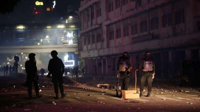 Menhan Prabowo Subianto Yakin Kerusuhan di Demo UU Cipta KerjaDibiayai Asing
