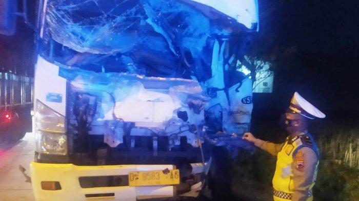 Dua Orang Tewas Dalam Kecelakaan Karambol di Jalan Lingkar Timur Kudus