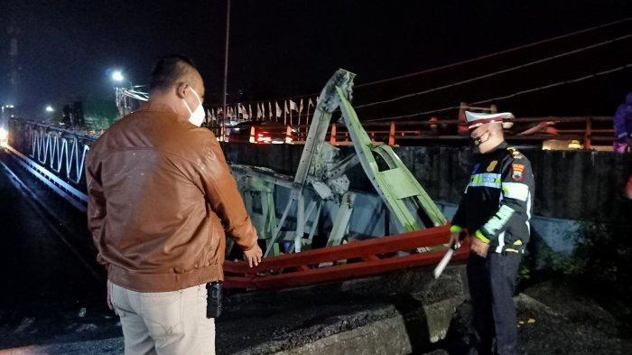 Fakta Baru Jembatan Rembun Perbatasan Pekalongan-Pemalang Ambles: Bruk! Setelah Ada Truk Lewat
