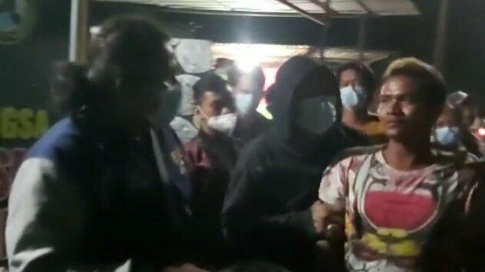 Polisi menyergap pelaku pemukulan terhadap seorang pemandu lagu di Semarang Utara, Kota Semarang, Sabtu (3/4/2021) malam lalu.