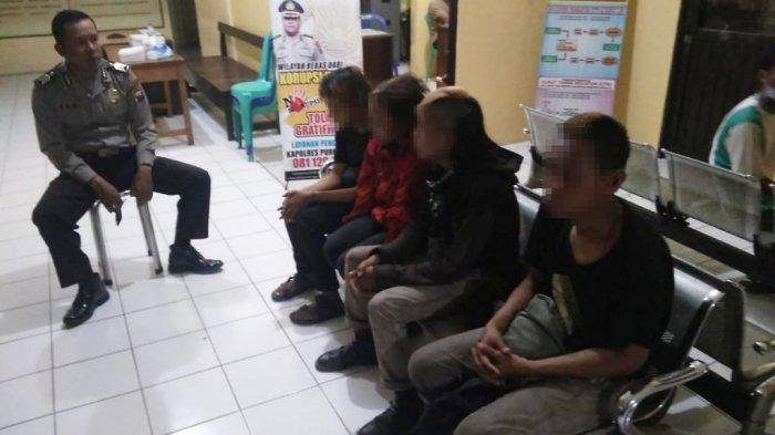 Pesta Miras di Halaman Masjid Bobotsari Purbalingga, 4 Orang Diciduk Polisi