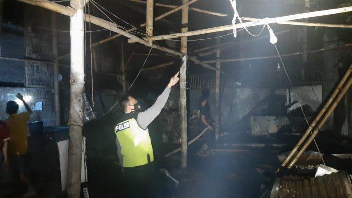 Terjadi Kebakaran Rumah Produksi Kerupuk di Purbalingga