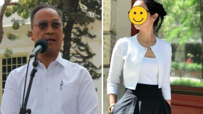 Foto-foto Cantiknya Istri Menteri Perindustrian, Ternyata Model Tersohor, Bos Perusahaan Apartemen