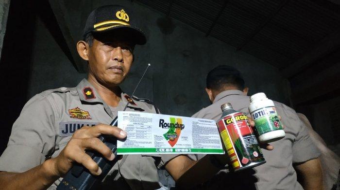BERiTA LENGKAP :  Pengerebekan Gudang Daur Ulang Botol Bekas dan Pestisida Palsu
