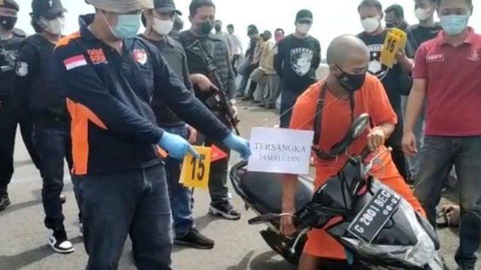 Jamaludin Mengaku Bakar Driver Ojol di Brebes Terinspirasi dari Tayangan TV