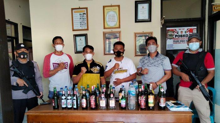 Menjelang Lebaran Polres Demak Gencar Operasi Penyakit Masyarakat, Amankan Puluhan Miras