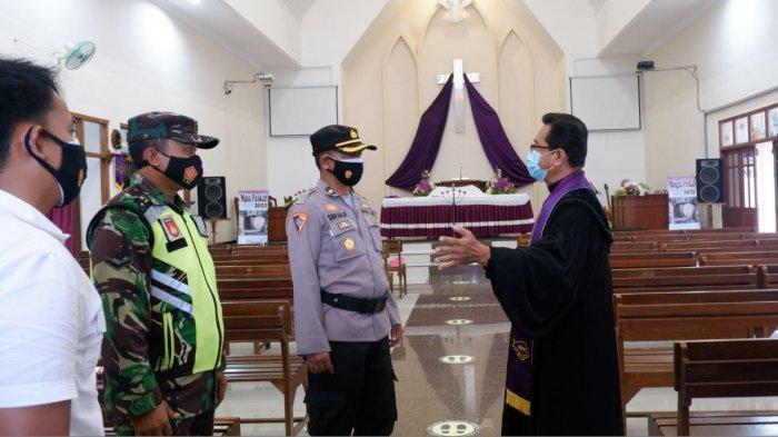 Jelang Paskah, Polres Demak Perketat Keamanan Gereja