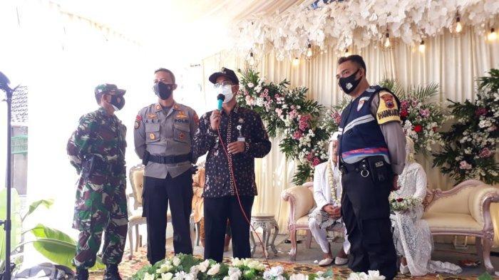 Polsek Juwana Pati Hentikan Acara Resepsi Pernikahan Tanpa Izin