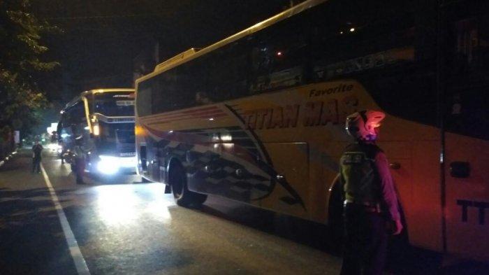 Ditilang, Sopir Bus Ini Merasa Dijebak Polantas Kota Pekalongan, Begini Alasannya