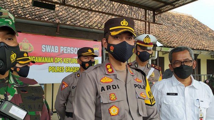 Polres Sragen Fokus Halau Pemudik dari Jawa Timur Masuk Jateng