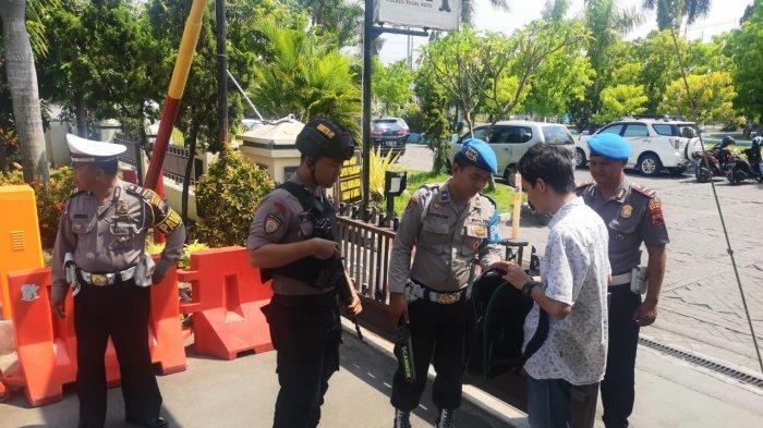 Polres Tegal Kota Perketat Keamanan Seusai Aksi Bom Bunuh Diri di Medan