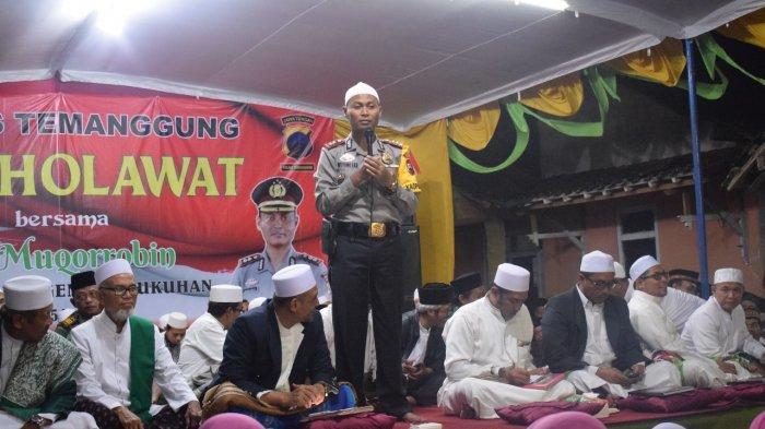 Polres Temanggung Gelar Salawatan di Kedu Dihadiri Ribuan Jemaah