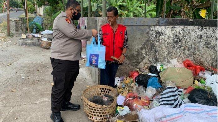 Kapolres Wonogiri Gencarkan Patroli Sambang dan Berikan Bansos