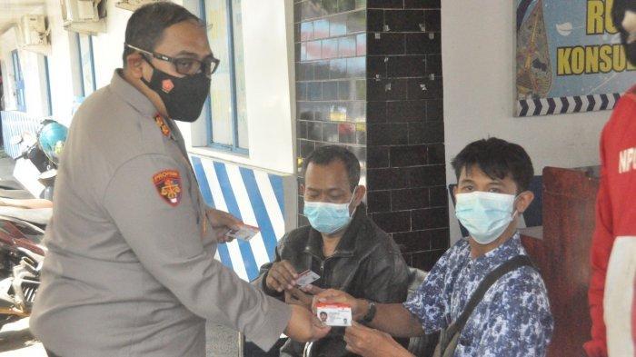 Satlantas Polres Wonogiri Layani Pembuatan SIM D Gratis