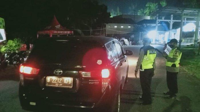 Ratusan Kendaraan Terjaring Operasi Pangamanan di Tiga Titik Perbatasan Banyumas