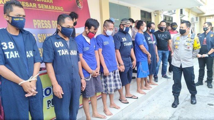 Polrestabes Semarang Tangkap 38 Pelaku Kejahatan dalam Operasi Sikat Jaran Candi 2020