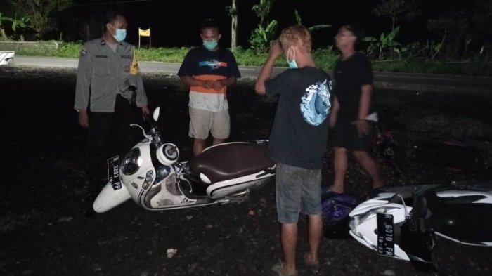 Gerebek Balap Liar di Bobotsari Purbalingga, 10 Motor Diangkut Polisi, Pemiliknya Kabur