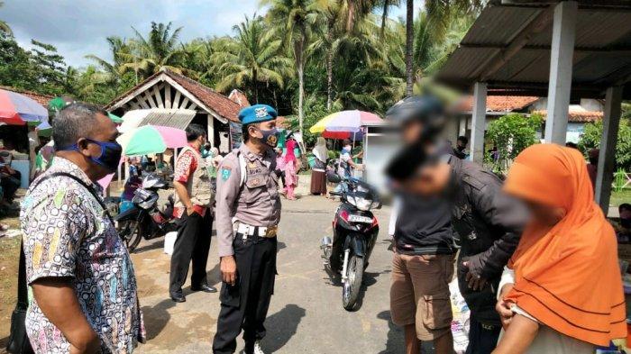Puluhan Pengunjung Pasar Ampih Kebumen Terjaring Operasi Yustisi, Alasannya Lupa