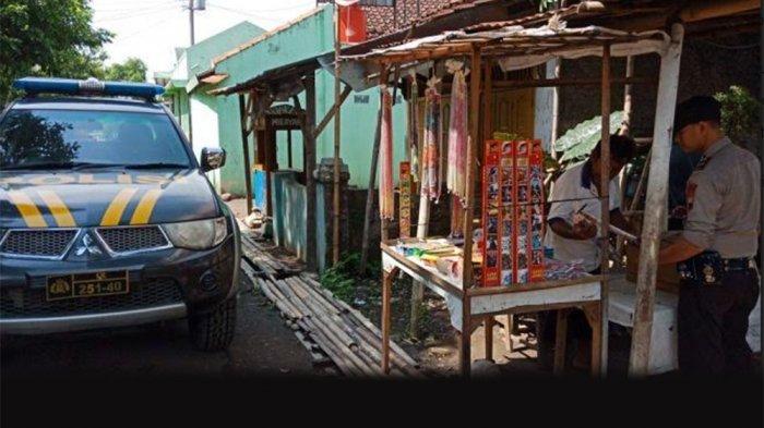 Polsek Pangkah Melarang Pedagang Kembang Api Jualan Petasan Ledak