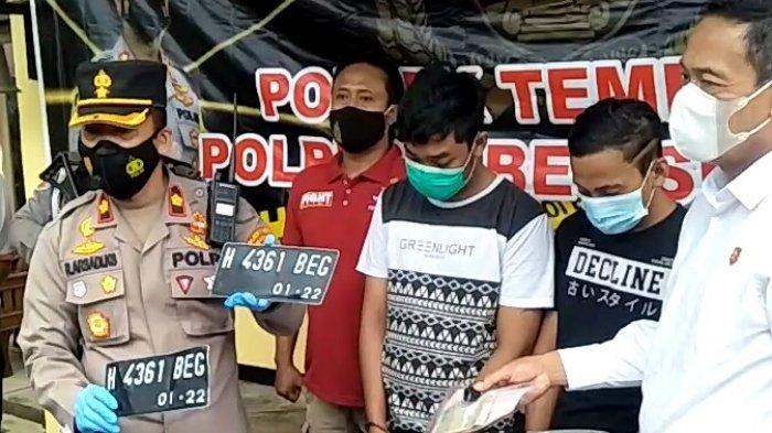 Mudahnya Curi Motor Milik Driver Ojek Online Saat Ditinggal Ambil Order Pempek di Semarang