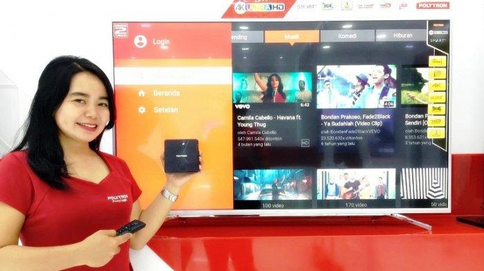 Polytron masih Berharap pada Smart TV dan Lemari Es, Bukan Smartphone