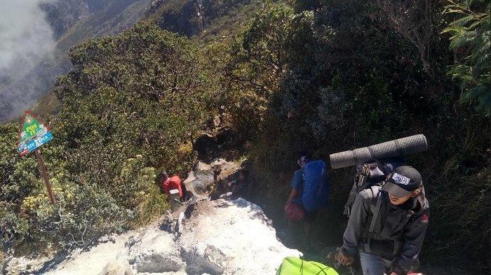 Turun dari Puncak Gunung Lawu, Fauzi Mendadak Sakit di Kawasan Sendang Drajat