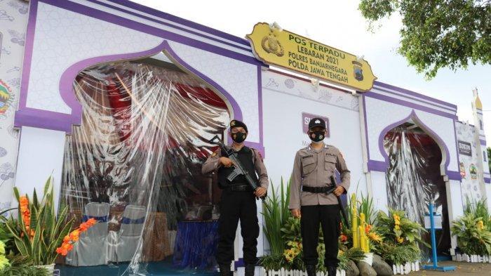 Polres Banjarnegara Dirikan 8 Pos Pelayanan dan Pengamanan pada Operasi Ketupat Candi