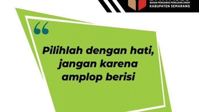 Masa Tenang, Bawaslu Kab Semarang Gencarkan Patroli Anti Politik Uang