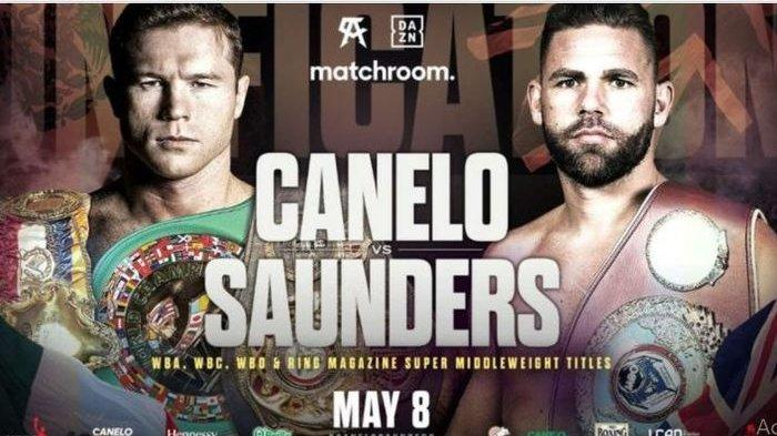 Jadwal dan Link Live Streaming Tinju Dunia Hari Ini, Duel Canelo Alvarez Vs Billy Joe Saunders